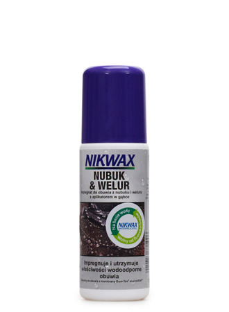 NIKWAX Nubuk&Suede Proof 125ml with sponge