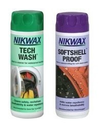 NIKWAX set Tech Wash + Softshell Proof 2x300ml
