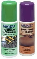 Zestaw NIKWAX Footwear Cleaning Gel + Conditioner for Leather 2x125ml