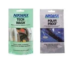 Zestaw NIKWAX Tech Wash 100ml + Polar Proof saszetki